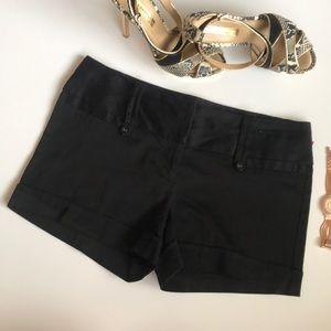 Women's black dress shorts Maurice